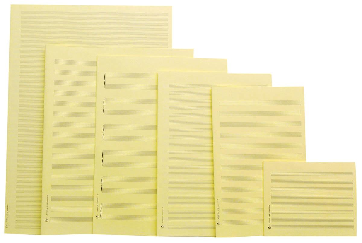 Notenschreibpapiere