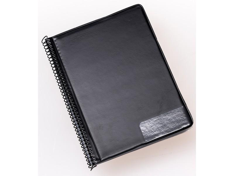 schwarz Hochformat Star Notenschreibpapiere Marschmappe 245 25 Taschen