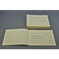 Notenschreibpapier DIN A5 quer 6 Systeme