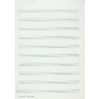 Skizzenblock - Hoch 50 Blatt 10 Systeme
