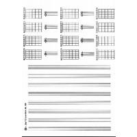 Sk.-blockDIN A4 hoch Gitarre 8 Sys. 12 G