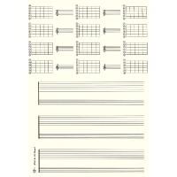Sk.-blockDIN A4 hoch Gitarre 3x2Sys+12 G