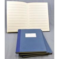 Notenschreibbuch handgeb. 96 S. 12 Sy.