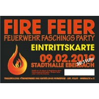 FIRE FEIER 2019 - Eintrittskarte