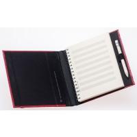 Taschenbuch 8Systeme & Karo  96S rot
