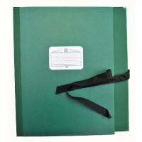 Notmappe Bach&Quart verst Klap. 8cm grün