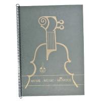 Notenhefte - DIN A 4 Spirale f.Klavier
