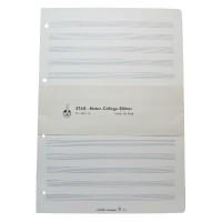 Noteneinlageblätter-A4 hoch-20 Bl-14 Sy