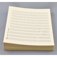 Notenpapier - Marsch hoch 11 Systeme