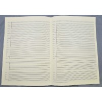 Notenpapier - DIN A3 Instrumentenvordr.
