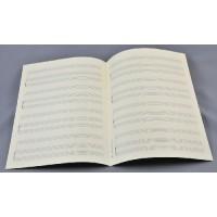 Notenpapier - DIN A4 hoch 4 x 3 Systeme