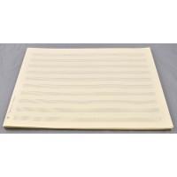 Notenpapier - DIN A4 quer 10 Systeme