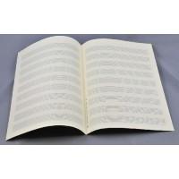 Notenpapier - DIN A4 hoch 9 Systeme 6 Li