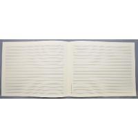Notenpapier - Quart quer 16 Systeme