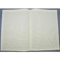 Notenpapier - DIN A3 hoch 28 Systeme