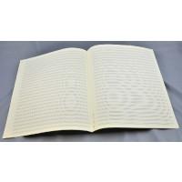 Notenpapier - Quart  hoch 26 Systeme