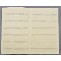Notenpapier - SO hoch 6 Systeme f. Chor
