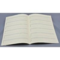 Notenpapier - DIN A 4 6 Bandonion System