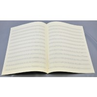 Notenpapier - Bach hoch 12 Systeme
