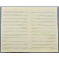 Notenpapier - SO hoch 12 Systeme