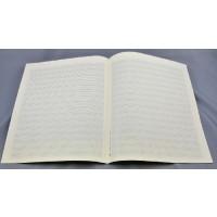 Notenpapier - Quart hoch 16 Sys m. Hilfs