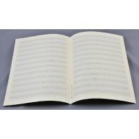 Notenpapier - DIN A4 hoch 12 Sys m. Hilf