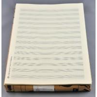 Notenpapier - DIN A4 hoch 14 Sys m. Hilf
