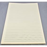 Notenpapier -A3 hoch 30 Sys, Hilfslinien