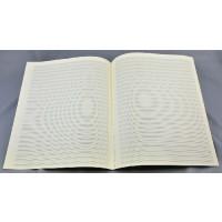 Notenpapier - Quart hoch 20 Sys m. Hilfs