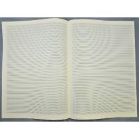 Notenpapier -A3 hoch 34 Sys, Hilfslinien