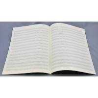 Notenpapier - Bach, 5x3 Systeme Trio