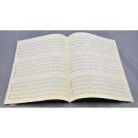 Notenpapier - Bach hoch 3x5 Sys Quintett