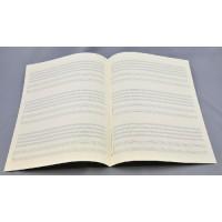 Notenpapier - Bach 3x6 Sys Quint.+Klavie