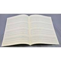 Notenpapier - Bach 4x4 Sys Trio+Klavier