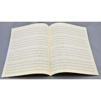 Notenpapier - Bach hoch 4x4 Sys Quartett