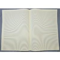 Notenpapier - DIN A3 hoch 34 Systeme