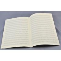 Notenpapier - DIN A 4 hoch 14 Systeme