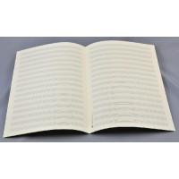 Notenpapier - DIN A 4 hoch 16 Systeme