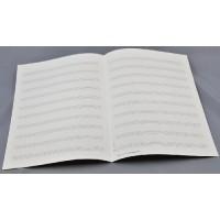 Notenpapier - DIN A 4 10 Systeme