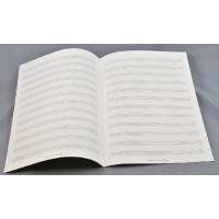 Notenpapier - DIN A 4 12 Systeme