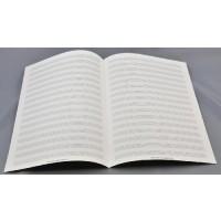 Notenpapier - DIN A 4 16 Systeme