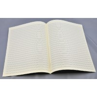 Notenpapier - Bach hoch 24 Systeme