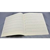 Notenpapier - Quart hoch 7 Bandonion Sys