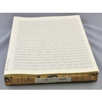 Notenpapier - Quart hoch 22 Sys m. Hilfs