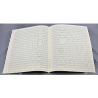 Notenpapier - Quart hoch 24 Sys m. Hilfs