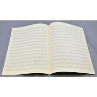 Notenpapier - Bach hoch 14 Systeme