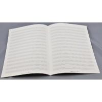 Notenpapier - DIN A 4 14 Systeme